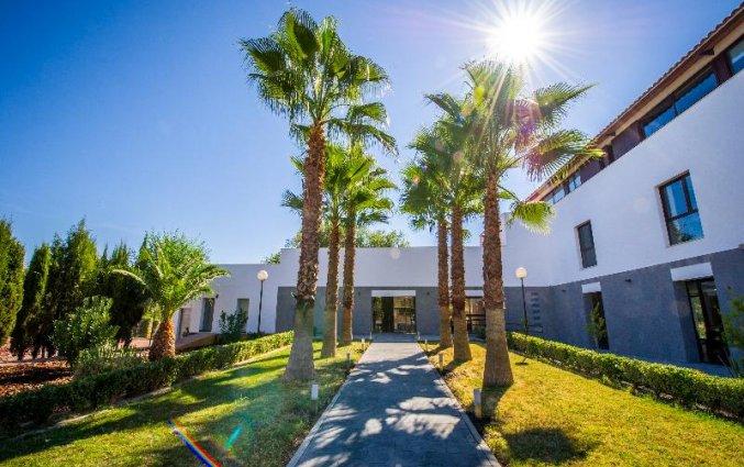 Vooraanzicht van Hotel Rural Las Monteras in Andalusië
