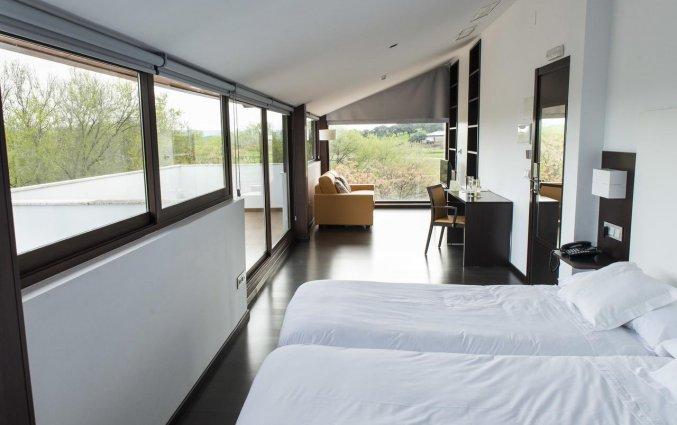 Tweepersoonskamer van Hotel Rural Las Monteras Andalusië