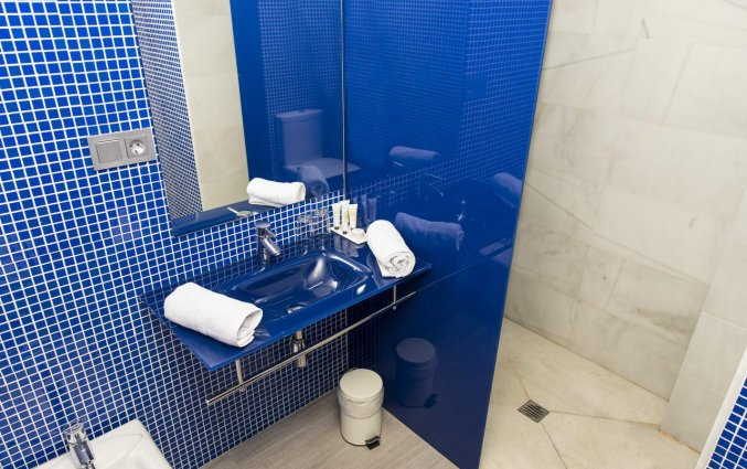 Badkamer met douche van Hotel Rural Las Monteras Andalusië