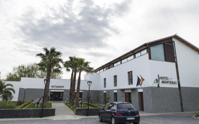 Vooraanzicht van Hotel Rural Las Monteras Andalusië