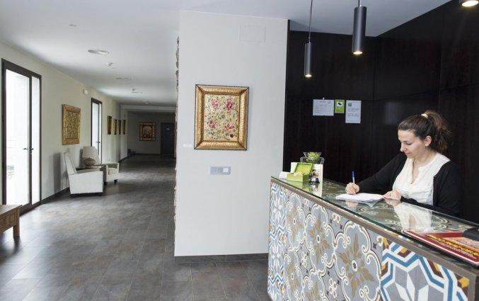 De receptie van Hotel Rural Las Monteras Andalusië