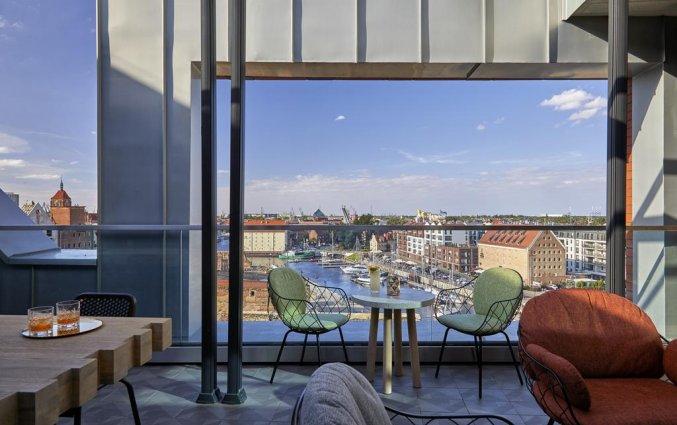 Dakterras Hotel Puro Gdańsk Stare Miasto dakterras
