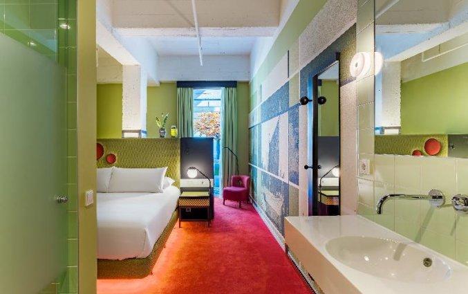 Tweepersoonskamer van Hotel Room Mate Bruno in Rotterdam