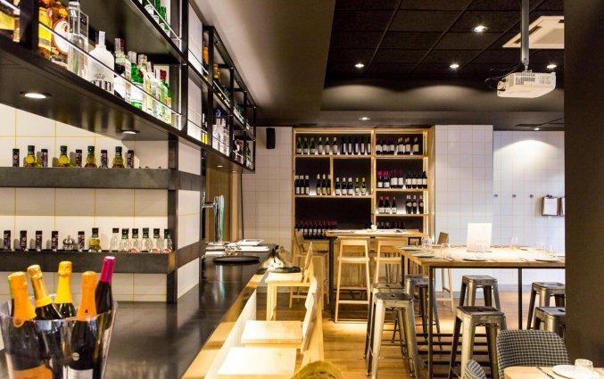 Restaurant van Hotel Rooms Ciencias in Valencia