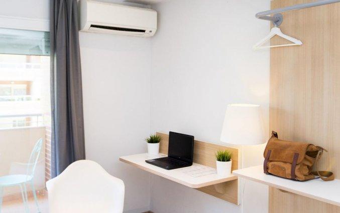 Tweepersoonskamer van Hotel Rooms Ciencias in Valencia