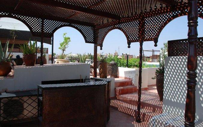Dakterras van Riad dar Bounouar Marrakech