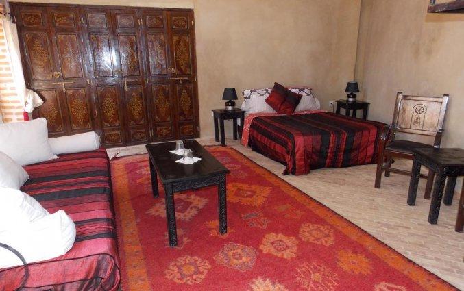 Een kamer van Riad dar Bounouar Marrakech