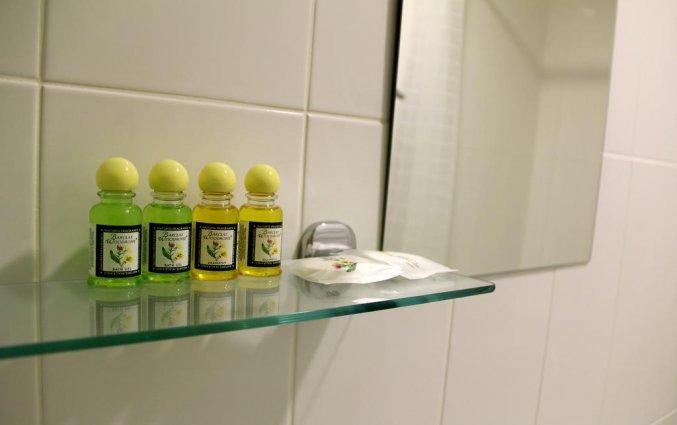 Badkamer van een tweepersoonskamer van Hotel Key Element in Moskou