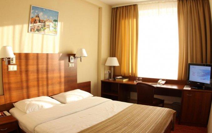 Tweepersoonskamer van Hotel Maxima Panorama in Moskou