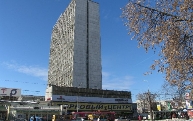 Gebouw van Hotel Maxima Panorama in Moskou
