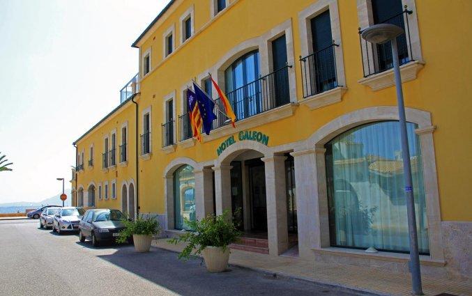 Buitenkant van Aparthotel Galeon Suites op Mallorca