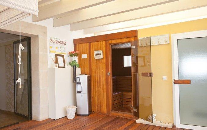 Wellnesscentrum met sauna van Aparthotel Galeon Suites op Mallorca