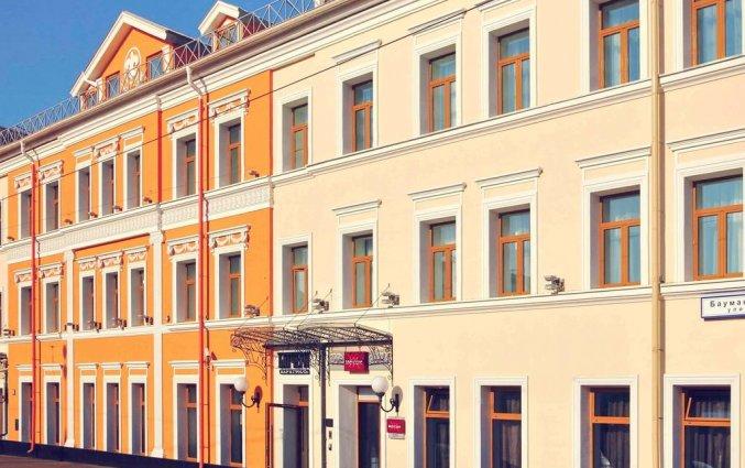Gebouw van Mercure Moscow Baumanskaya in Moskou