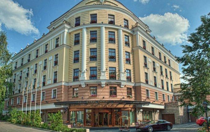 Gebouw van Hotel Garden Ring in Moskou