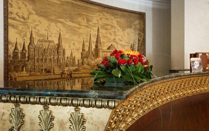 Receptie van Hotel Garden Ring in Moskou