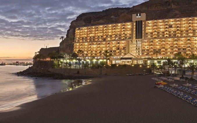 Uitzicht van Hotel Taurito Princess op Gran Canaria