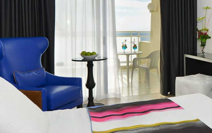Tweepersoonskamer van Hotel Taurito Princess op Gran Canaria