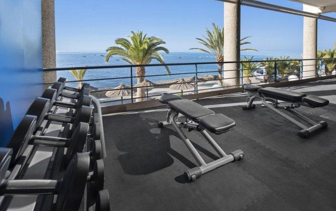 Fitnessruimte van Hotel Taurito Princess op Gran Canaria