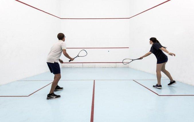 Squash van Hotel Taurito Princess op Gran Canaria