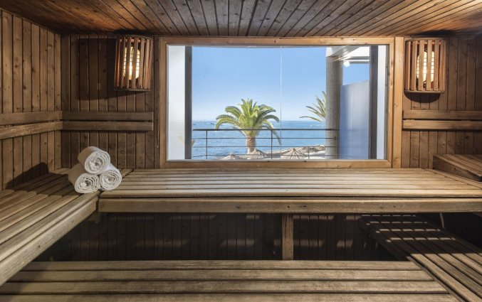 Sauna van Hotel Taurito Princess op Gran Canaria