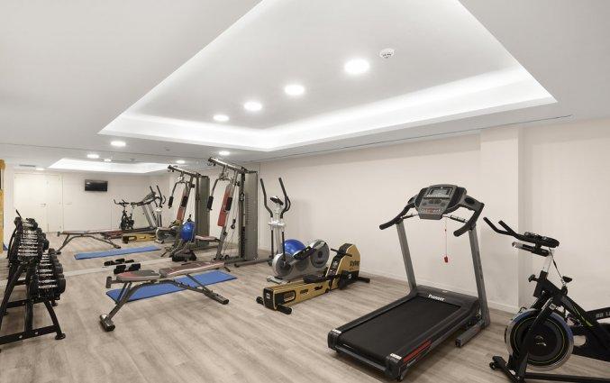 De fitnessruimte van Hotel AluaSun Continental Park Mallorca
