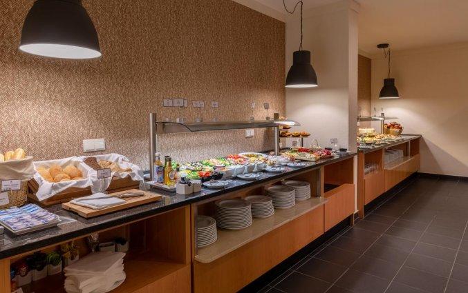 Het buffet van Aparthotel Luna Solaqua Algarve