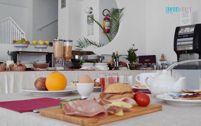 Ontbijt van Hotel Baia Azzurra op Sicilie