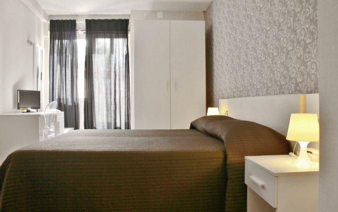Tweepersoonskamer van Hotel Baia Azzurra op Sicilie