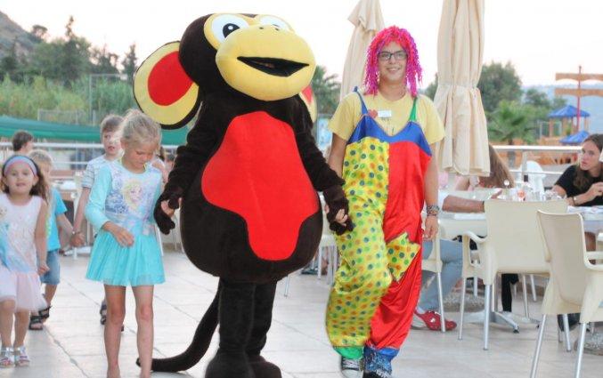 Animatieteam van Hotel Kiani Beach Resort op Kreta