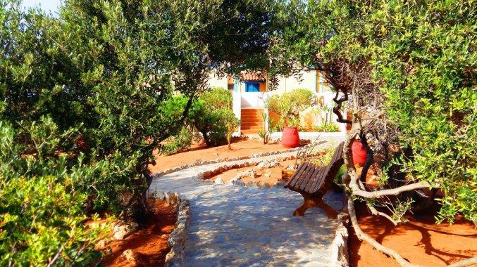 Wandelpad bij Zorbas Hotel Beach Village op Kreta