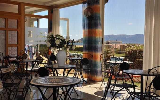 Restaurant van Hotel Castello op Sardinië