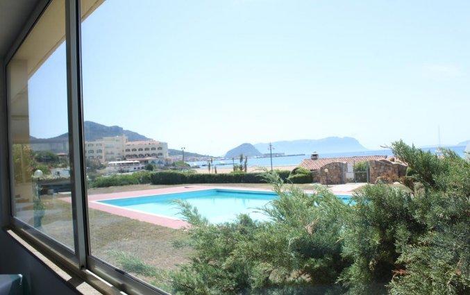 Zwembad van Hotel Castello op Sardinië