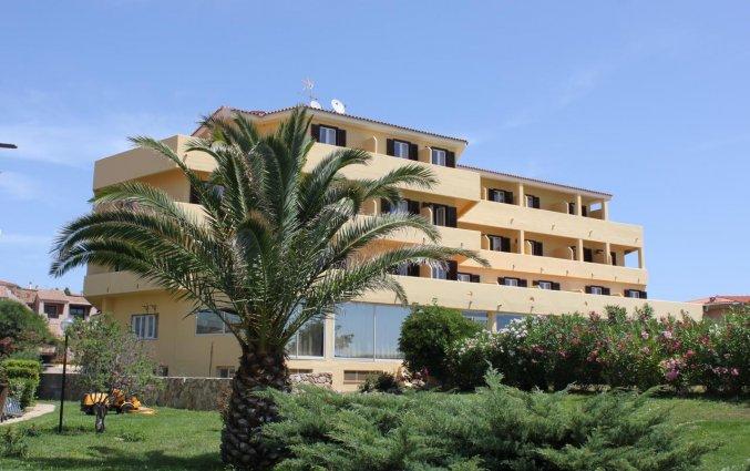 Gebouw van Hotel Castello op Sardinië