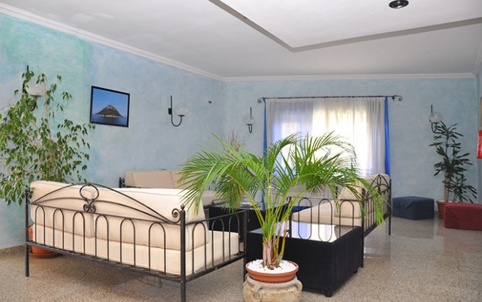 Lounge van Hotel Castello op Sardinië