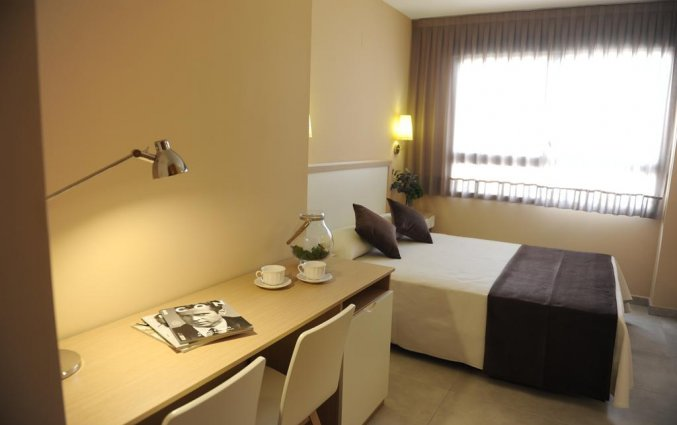 Kamer voor twee personen van hotel La City Mercado in Alicante