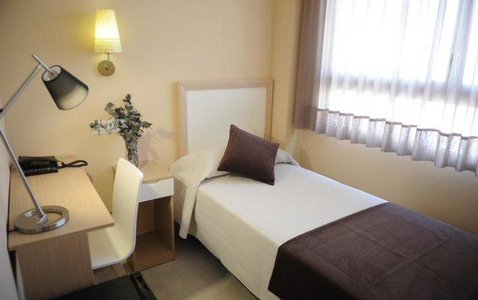 Eenpersoonskamer in hotel La City Mercado in Alicante