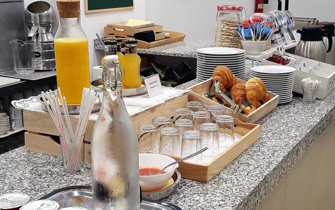 Ontbijtbuffet van Hotel La City Mercado in Alicante