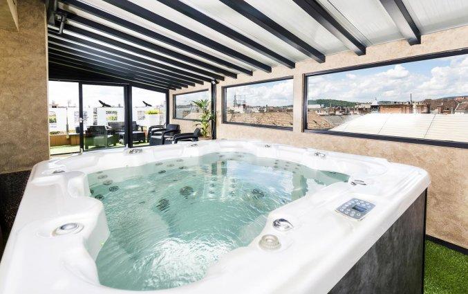 Jacuzzi van Hotel Bo33 in Budapest