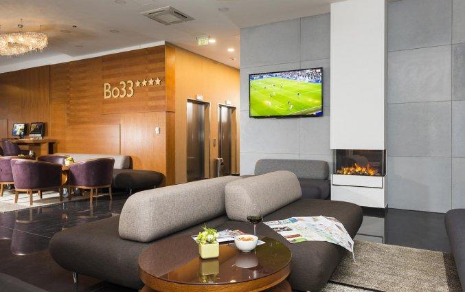 Lounge van Hotel Bo33 in Budapest