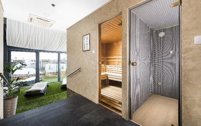 Sauna van Hotel Bo33 in Budapest