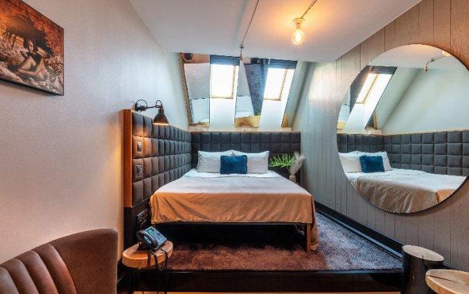 Tweepersoonskamer van hotel Rum in Budapest