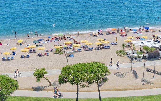 Uitzicht op de zee van Hotel Sorrabona aan de Costa Brava