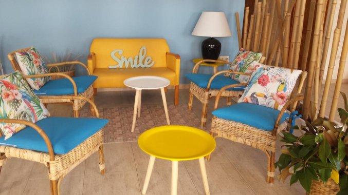 Zitplaatsen in Hotel Sorrabona aan de Costa Brava