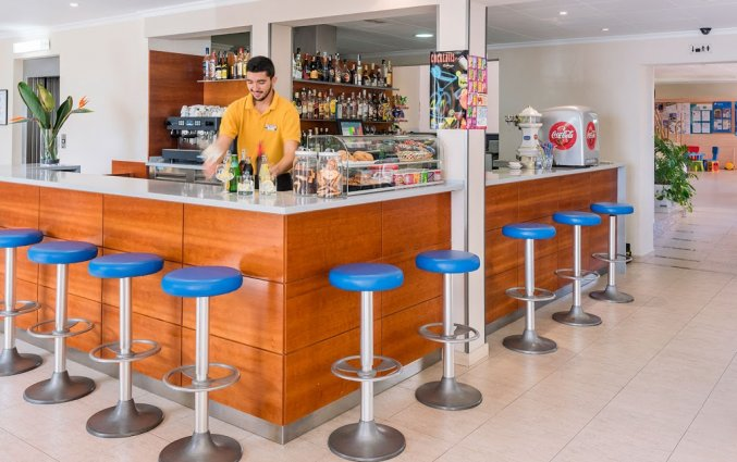Bar in Hotel Sorrabona aan de Costa Brava