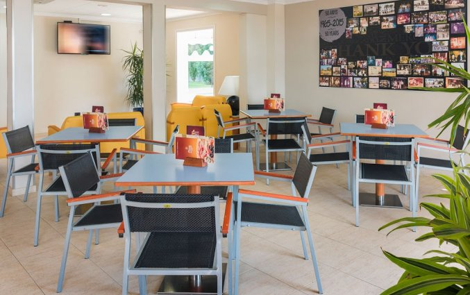 Restaurant in Hotel Sorrabona aan de Costa Brava