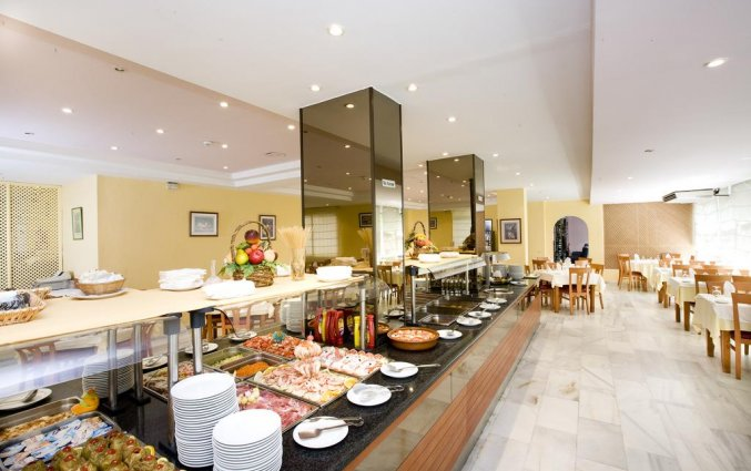 Ontbijtbuffet in Hotel Monarque El Rodeo in de Costa del Sol