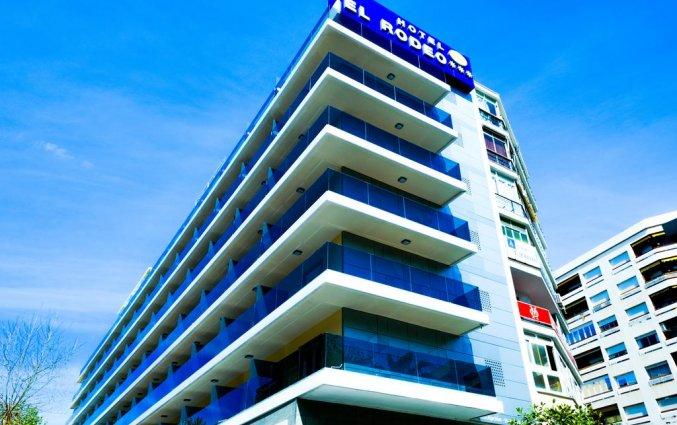 Buitenaanzicht van Hotel Monarque El Rodeo in de Costa del Sol