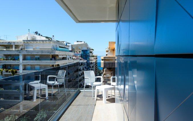 Balkon van een slaapkamer in Hotel Monarque El Rodeo in de Costa del Sol