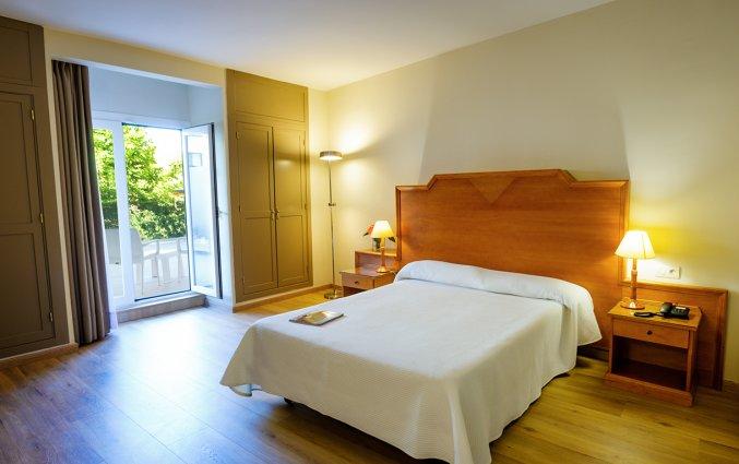 Slaapkamer in Hotel Monarque El Rodeo in de Costa del Sol