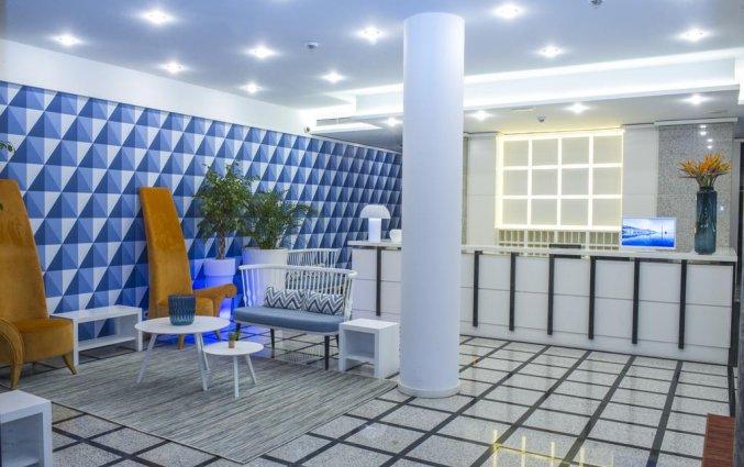 Lobby en receptie van Hotel Terrace Mar Suite op Madeira